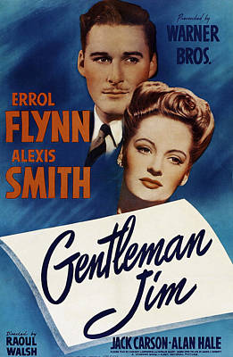 Royalty-Free and Rights-Managed Images - Gentleman Jim, with Errol Flynn and Alexis Smith, 1942 by Stars on Art