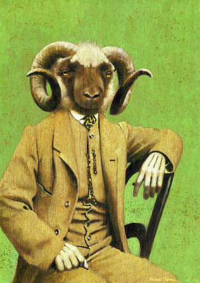 Royalty-Free and Rights-Managed Images - Gentleman Ram by Michael Thomas