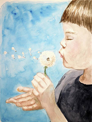 Painting - Gentleness by Heather Young