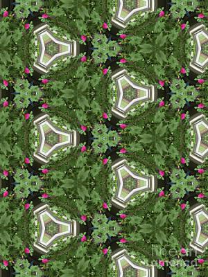 Achieving - Geometric Garden by Karen Adams