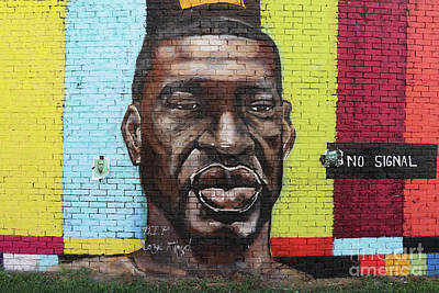 Its A Piece Of Cake - George Floyd Mural Toledo Ohio  9888 by Jack Schultz