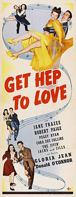Classic Christmas Movies - Get Hep to Love, with Gloria Jean and Donald OConnor by Stars on Art