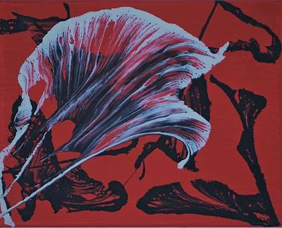 Monochrome Landscapes - Ghost Flower Arctic by J Ringo