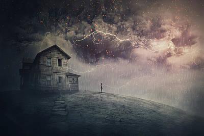 Surrealism Digital Art - Ghost Land by PsychoShadow ART
