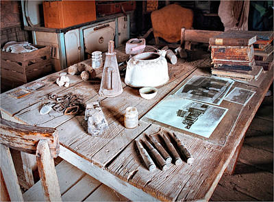 Photograph - Ghost Town Kitchen by Phyllis Stokes