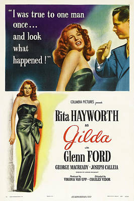 Bringing The Outdoors In - Gilda - 1946 by Stars on Art