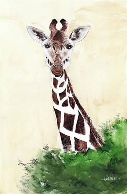 Marvelous Marble - Giraffe 1 by Anil Nene