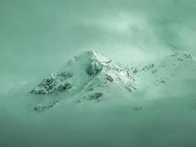 Surrealism Royalty Free Images - Glacier Bay Alaska - Surreal Art by Ahmet Asar Royalty-Free Image by Celestial Images