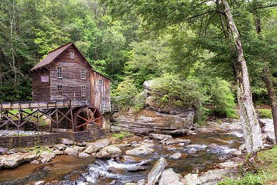 Food And Flowers Still Life Rights Managed Images - Glade Creek Grist Mill Royalty-Free Image by Susan Rissi Tregoning