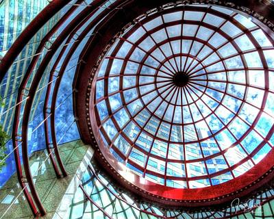 Jerry Sodorff Royalty-Free and Rights-Managed Images - Glass Ceiling 2 by Jerry Sodorff