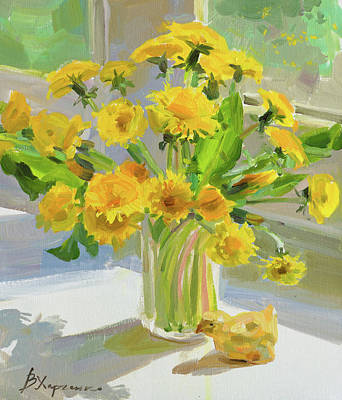 Anchor Down Royalty Free Images - Glass of yellow spring Royalty-Free Image by Victoria Kharchenko