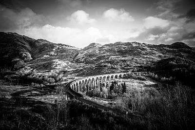 Photograph - Glenfinnan Viaduct by Philippe Sainte-Laudy