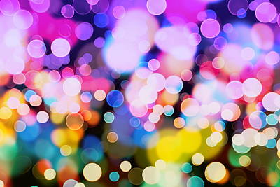 Royalty-Free and Rights-Managed Images - Glitter vintage lights background by Julien