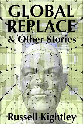 Digital Art - Global Replace Book Cover by Russell Kightley