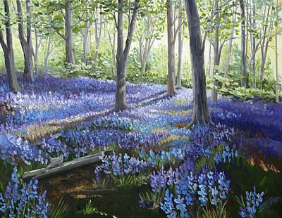 Painting - Glories of Spring by Paula McHugh