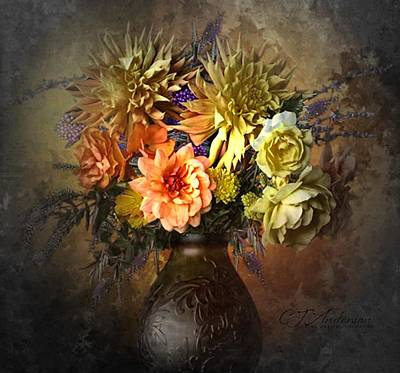Still Life Royalty-Free and Rights-Managed Images - Glory Of The Garden by CJ Anderson