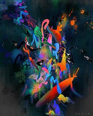 Digital Art - Glow by Jordan Soliz
