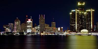 Just Desserts - GM Towers High and Tall in Detroit by Frozen in Time Fine Art Photography