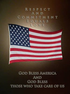 Photograph - God Bless America by Patricia Keller