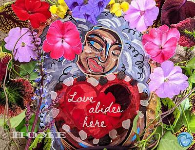 Painting - Goddess of Home by Angela Yarber