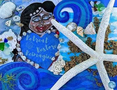 Painting - Goddess of Restoration by Angela Yarber