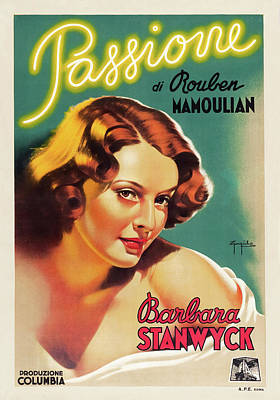 Royalty-Free and Rights-Managed Images - Golden Boy, with Barbara Stanwyck, 1939 by Stars on Art