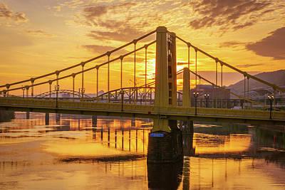 Lady Bug - Golden Bridges Sunrise by Aaron Geraud
