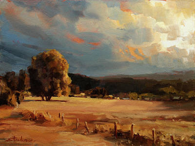 Royalty-Free and Rights-Managed Images - Golden Field by Steve Henderson