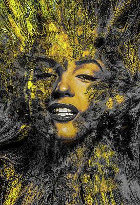 Digital Art - Golden Era Glamour by George Garcia