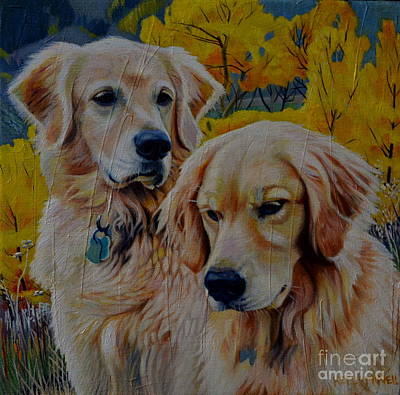 Painting - Golden by Kelly McNeil