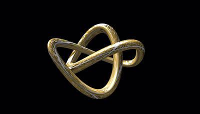 Digital Art - Golden Nugget by Clive Littin