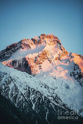 Royalty-Free and Rights-Managed Images - Golden Peak by Evelina Kremsdorf