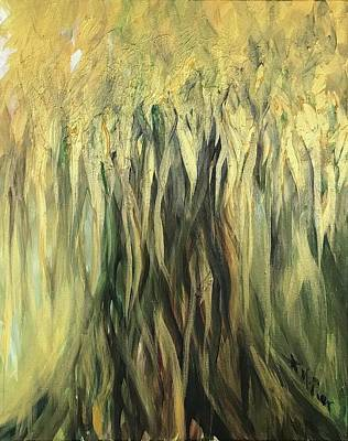 Painting - Golden Tree by Michelle Pier