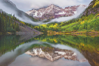 Royalty-Free and Rights-Managed Images - Good Morning Maroon Bells by Darren White