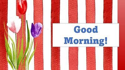 Mixed Media - Good Morning by Nancy Ayanna Wyatt