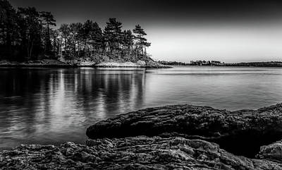 Photograph - Googin's Island Sunset by Scott Thomas Images