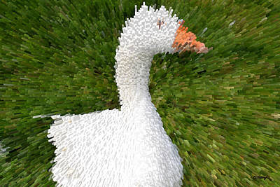 Olympic Sports - Goose by Patrick J Murphy