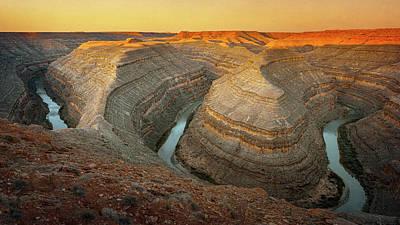 Outdoor Graphic Tees - Gooseneck State Park Utah II by Joan Carroll