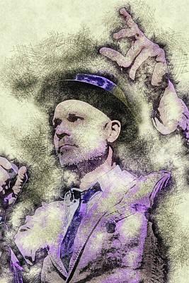 Digital Art - Gord Downie Tragically Hip4 by Thomas Leparskas