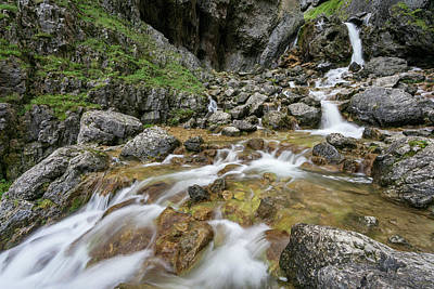 Photograph - Gordale Scar by David Taylor