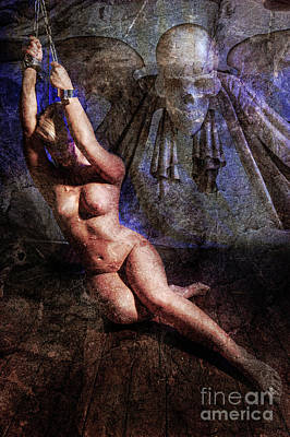 Photograph - Gothic Chains by Simon Pocklington