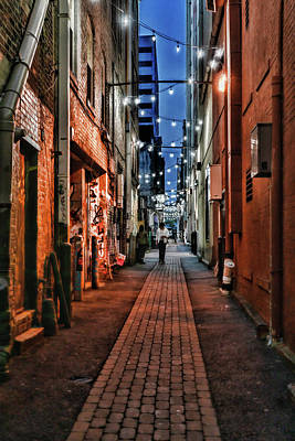 Photograph - Graffiti Alley Knoxville by Sharon Popek