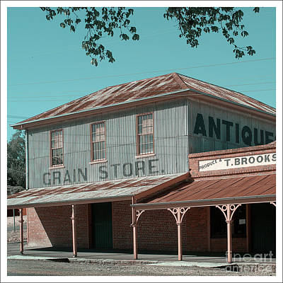 Photograph - Grain Store by Russell Brown