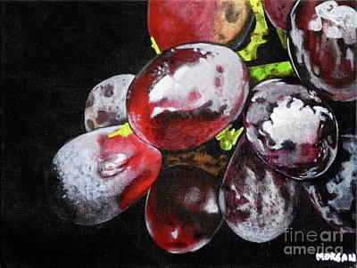 Painting - Grains de raisin by Morgan Veissiere