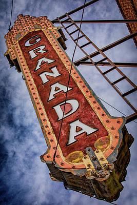 Audrey Hepburn - Granada Theatre - Alpine Texas by Stephen Stookey
