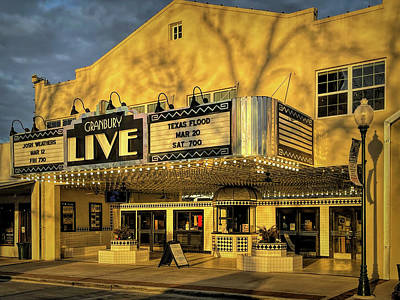 Halloween Movies - Granbury Live by Judy Vincent