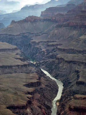 Halloween Movies - Grand Canyon and Colorado river by Mihaela Pater