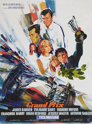 Royalty-Free and Rights-Managed Images - Grand Prix, 1966 -b by Stars on Art