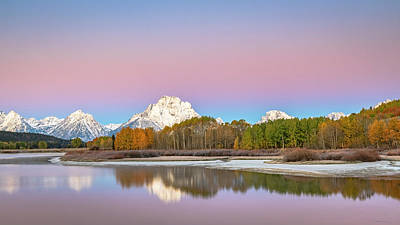 Photograph - Grand Teton NP Fall beauty by Russell Cody