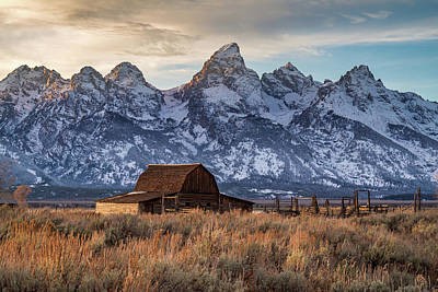 Abstract Male Faces - Grand teton Scenery by Pierre Leclerc Photography